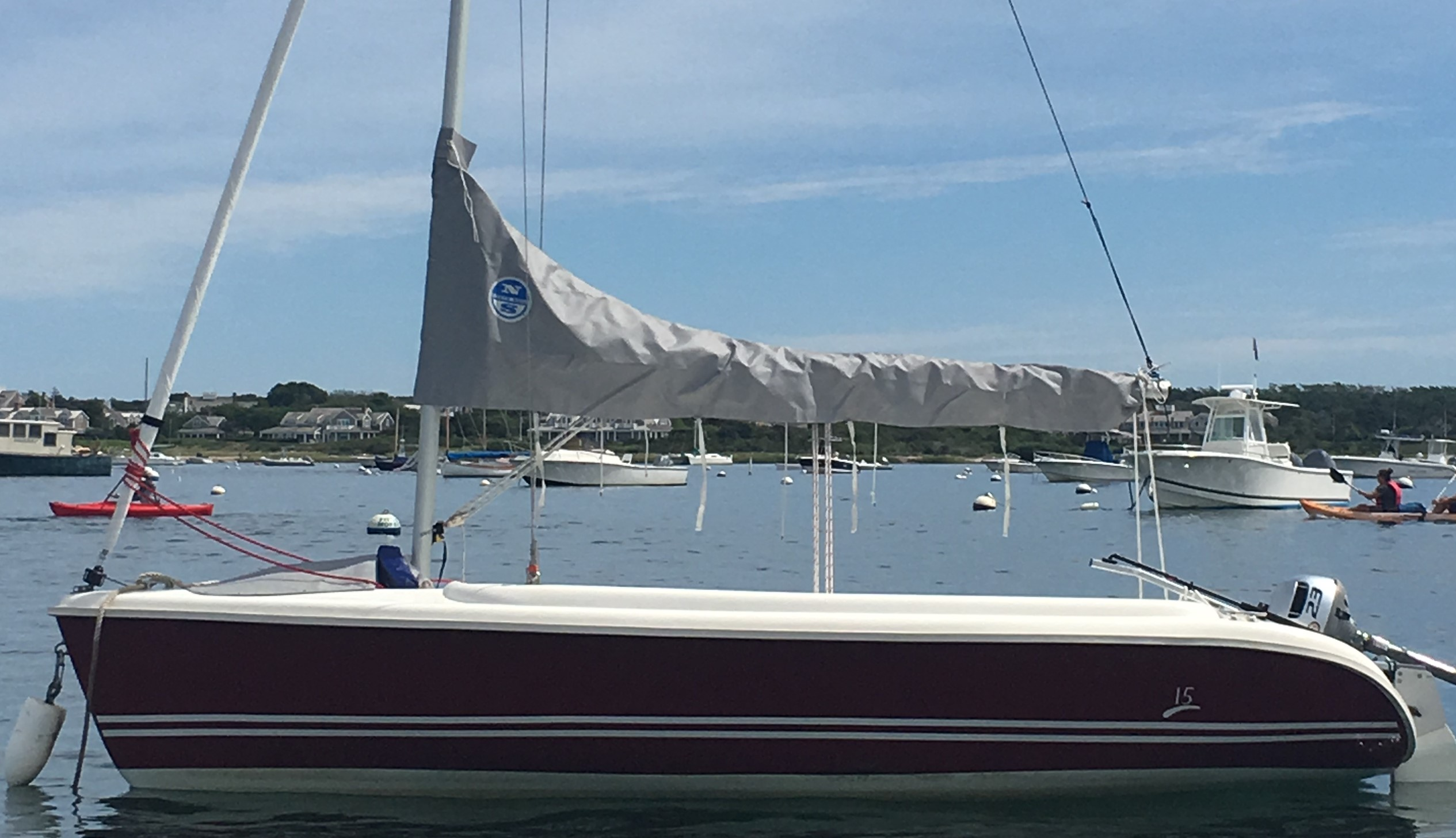 Hunter 15 Sail Boat For sale - Nantucket Classifieds